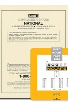 2016 Scott U.S. National Supplement + Scott Mount Set (Black)