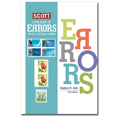 Scott Catalog of Errors on U.S. Postage Stamps