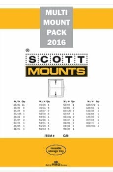 2016 U.S. Supplement Stamp Mount Set (81 Mounts)