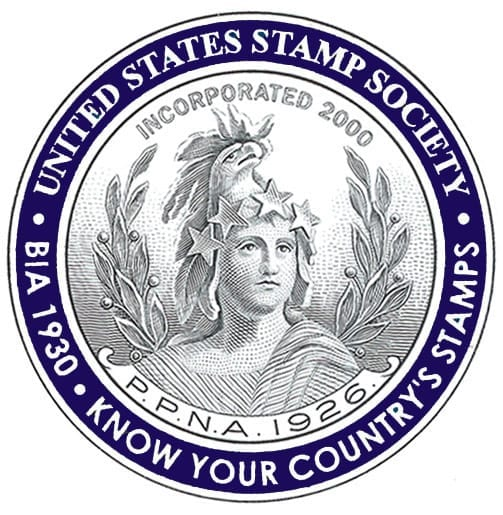 Logo for United States Stamp Society USSS